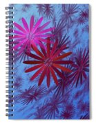 Floating Floral -003 Spiral Notebook