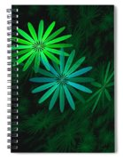 Floating Floral-007 Spiral Notebook