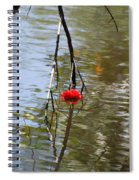 Floating Flower Spiral Notebook
