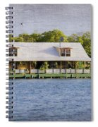 Floating House In La Parguera Puerto Rico Spiral Notebook