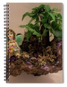 Floating Island Fairy Spiral Notebook