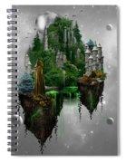 Floating Kingdom Spiral Notebook