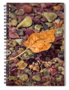 Floating Leaf Spiral Notebook