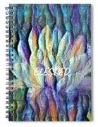 Floating Lotus - Blessed Spiral Notebook