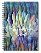 Floating Lotus - Celebrating You Spiral Notebook