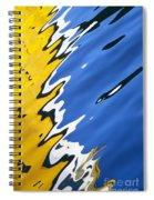 Floating On Blue 33 Spiral Notebook