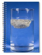 Floating Pumice Spiral Notebook