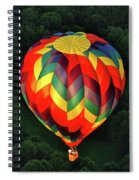 Floating Rainbow Spiral Notebook