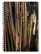 Floating Reeds Spiral Notebook