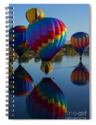 Floating Reflections Spiral Notebook