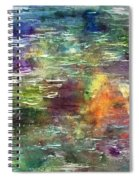 Floating Tranquility Spiral Notebook