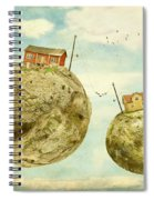 Floating Village Spiral Notebook