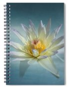 Floating Water Lily Spiral Notebook