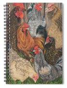 Flocked Spiral Notebook