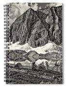 Floe Lake Sepia Spiral Notebook