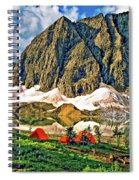 Floe Lake Spiral Notebook