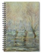 Flood In Giverny Spiral Notebook