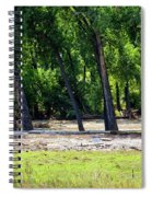 Flood Plain Spiral Notebook