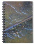 Flooded Rails Spiral Notebook