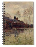 Floods At Giverny Spiral Notebook