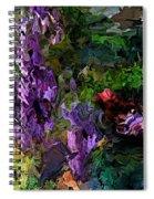 Flora Landscape 081015 Spiral Notebook