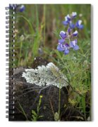 Flora On The Plateau Spiral Notebook