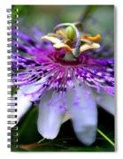 Flora Passiflora Spiral Notebook