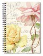 Florabella Iv Spiral Notebook