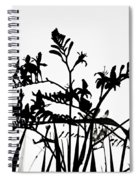 Floral Abstract Spiral Notebook