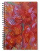 Floral Abstract, Sunshine Bouquet Spiral Notebook