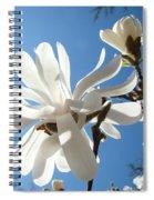 Floral Art Print Landscape Magnolia Tree Flowers White Baslee Troutman Spiral Notebook