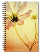 Floral At Dusk Spiral Notebook