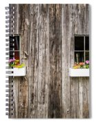 Floral Barn Planters Spiral Notebook