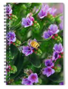 Floral Beehive Spiral Notebook