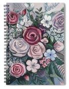 Floral Boom Spiral Notebook