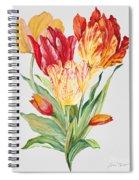 Floral Botanicals-jp3789 Spiral Notebook