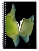 Floral Butterfly Spiral Notebook