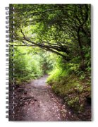 Floral Confetti On The Trail Spiral Notebook