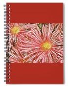 Floral Design No 1 Spiral Notebook