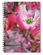 Floral Dogwood Tree Flowers Baslee Troutman Spiral Notebook