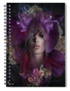 Floral Dreams Spiral Notebook