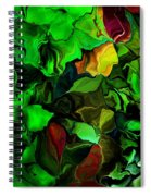 Floral Expression 080616 Spiral Notebook