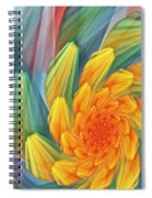 Floral Expressions 1 Spiral Notebook
