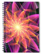 Floral Expressions 3 Spiral Notebook
