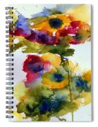 Floral Fancy Spiral Notebook