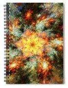 Floral Fantasy 072010 Spiral Notebook
