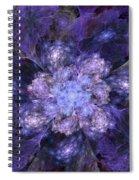 Floral Fantasy 1 Spiral Notebook