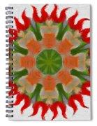 Floral Flare Spiral Notebook