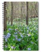 Floral Forest Floor Spiral Notebook