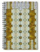 Floral Forest Of Magic And Gold Spiral Notebook